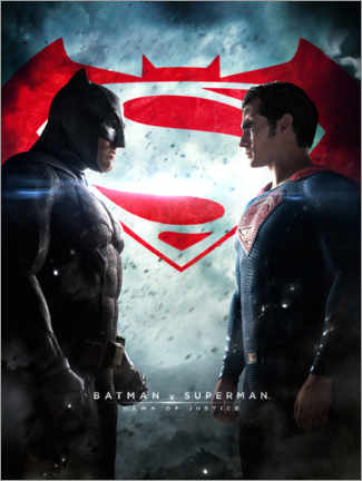 Premium poster  Batman v Superman: Dawn of Justice 2016