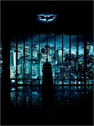 Premium poster  Batman - The Dark Knight 2008 - Gotham