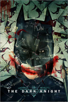 Premium poster  Batman - The Dark Knight