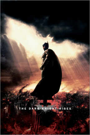 Premium poster  The Dark Knight Rises - Sunbeams