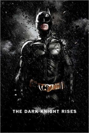 Premium poster  The Dark Knight Rises - Batman