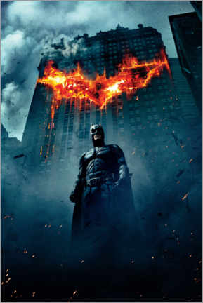 Premium poster  The Dark Knight Rises - Burning Bat