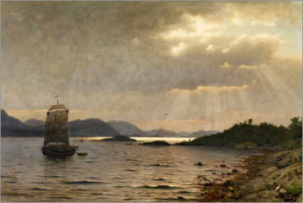 Canvas print  Game on the coast - Adelsteen Normann