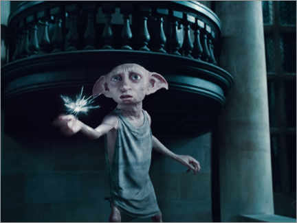 Premium poster  The Deathly Hallows I - Dobby