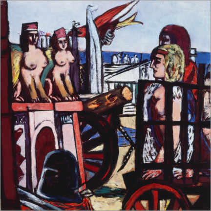Wall sticker  Removal of the sphinxes - Max Beckmann