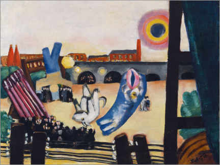 Gallery print  Chinese fireworks - Max Beckmann