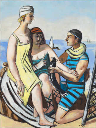 Gallery print  The little fish - Max Beckmann