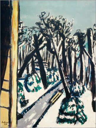 Gallery print  Zoo in winter - Max Beckmann