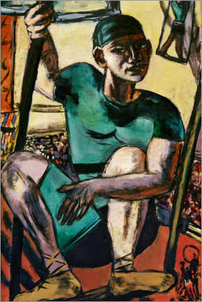 Gallery print  Acrobat on the swing - Max Beckmann