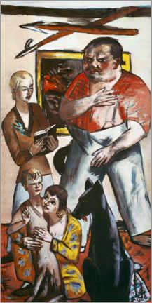 Gallery print  Family portrait George - Max Beckmann