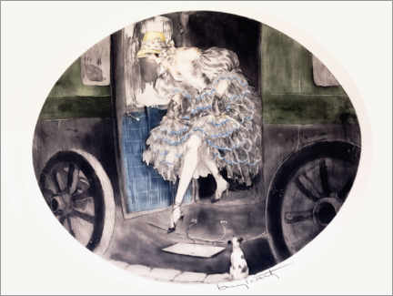 Gallery print  Get out of the carriage - Louis Icart