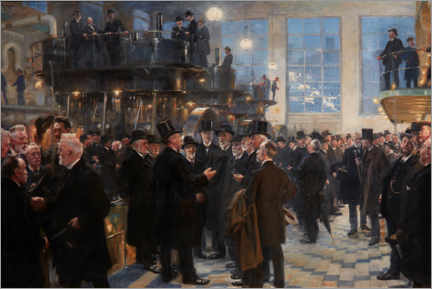 Acrylic print  Men of Industry - Peder Severin Krøyer