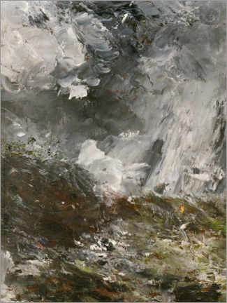 Canvas print  The night of jealousy - August Johan Strindberg
