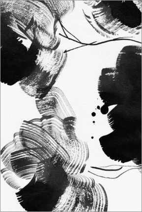 Premium poster Abstract Ink