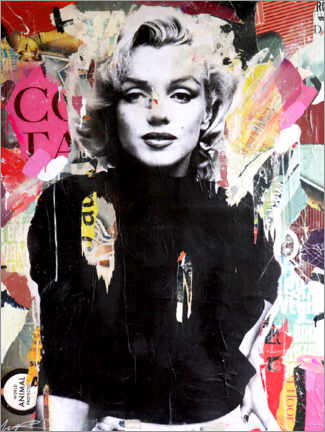 Wall sticker Marilyn