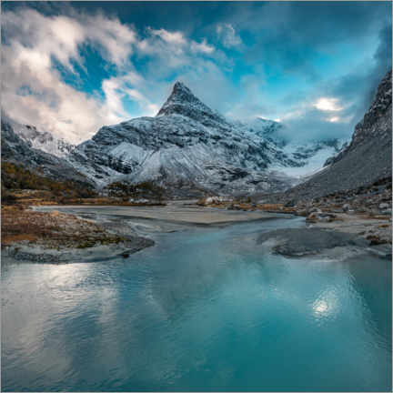 Gallery print  Untouched Valais Alps - Marcel Gross