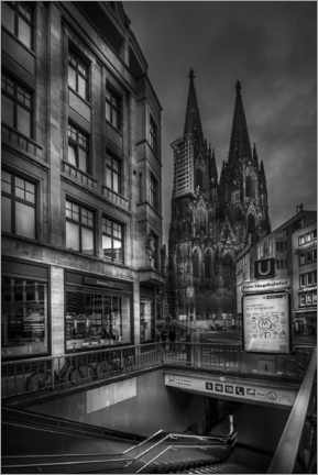 Canvas print  Cologne cathedral - Jens Korte