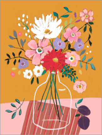 Gallery print  Colorful bouquet - Sharon Montgomery