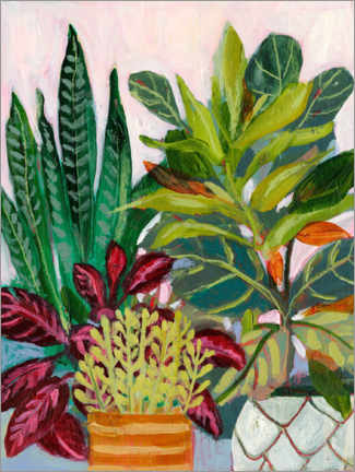 Gallery print  A plant lover's room - Sharon Montgomery