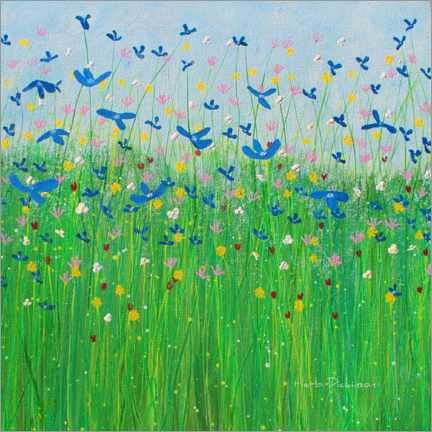 Canvas print  Wildflowers of France - Herb Dickinson
