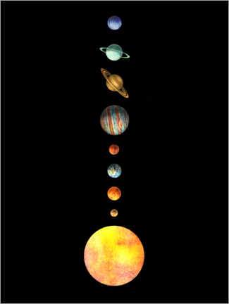 Gallery print  The Solar System - Terry Fan