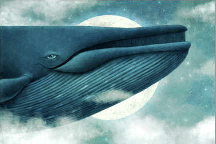 Premium poster Dream Of The Blue Whale
