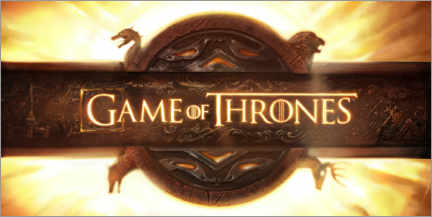 Canvas print  Game of Thrones - opening credits