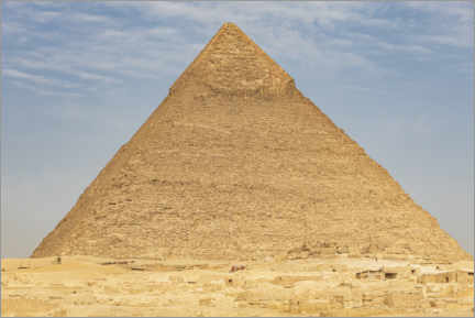 Premium poster  Pyramid of Khafre in Giza - Emily Wilson