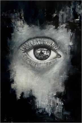 Premium poster  The eye of the beholder - Erika Viklund