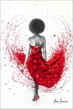 Canvas print  Scarlet Power - Ashvin Harrison