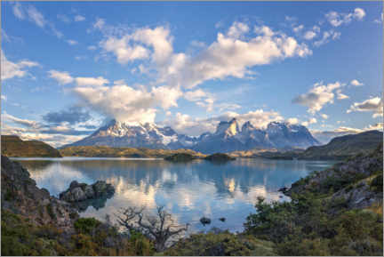 Foam board print  Torres del Paine National Park, Chile - Dieter Meyrl