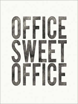 Canvas print  Office Sweet Office - Wild Apple Portfolio