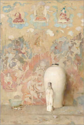 Acrylic print  The picture from Tiibet - Søren Emil Carlsen