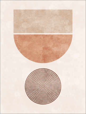 Gallery print  Abstract geometric shapes - TAlex