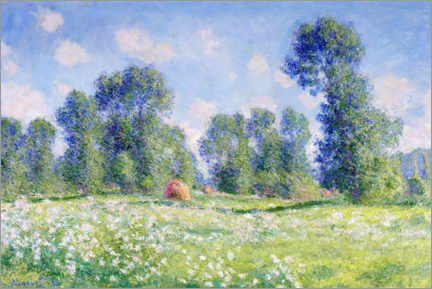 Premium poster Effect of Spring, Giverny