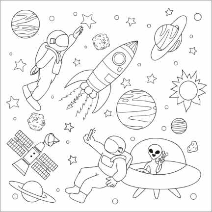 Colouring poster   - Kidz Collection