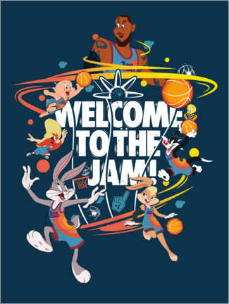 Premium poster  Space Jam 2 - Welcome to the Jam!