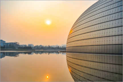 Gallery print  National Center for the Performing Arts in Beijing - HADYPHOTO
