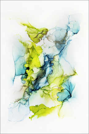 Canvas print  In the flow of time - Steffen Gierok
