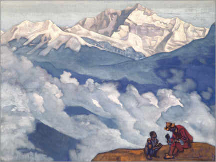 Canvas print  Pearl of Searching - Nicholas Roerich