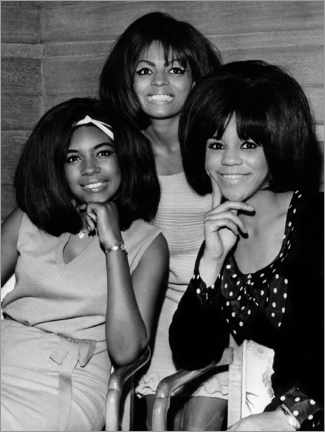 Gallery print  The Supremes, London 1965