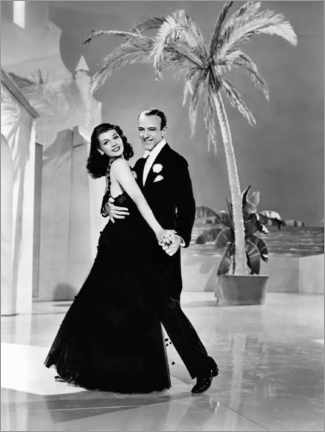 Premium poster  Rita Hayworth And Fred Astaire, You Were Never Lovelier, 1942