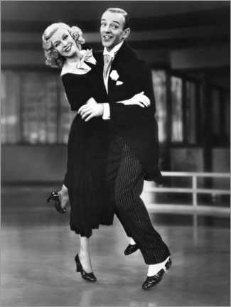 Premium poster  Ginger Rogers and Fred Astaire