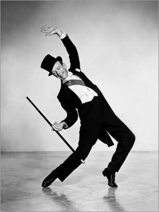 Premium poster  Fred Astaire, Silk Stockings Musical, 1957