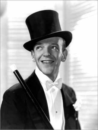Premium poster  Fred Astaire, Top Hat, 1935