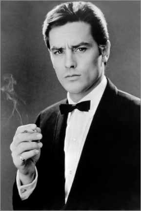 Premium poster  Alain Delon, Any Number Can Win, 1963