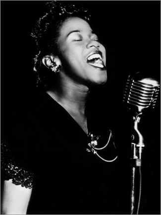 Wall sticker  Sarah Vaughan, American jazz singer and pianist