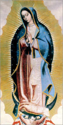 Premium poster  The Virgin of Guadalupe