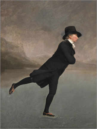 Canvas print  Rev. Robert Walker, ice skating - Henry Raeburn