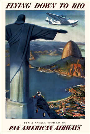 Premium poster Flying down to Rio